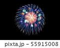 【夏イメージ】花火大会 55915008