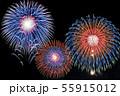 【夏イメージ】花火大会 55915012