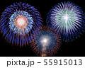 【夏イメージ】花火大会 55915013
