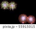 【夏イメージ】花火大会 55915015