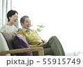 シニア 夫婦 人物の写真 55915749
