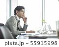 男性 ビジネス ビジネスマンの写真 55915998