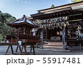 神社と神輿 55917481