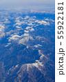 滋賀_積雪する伊吹山山系 55922181