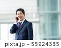 ビジネスイメージ   男性会社員 ミドルのビジネスマン  55924335