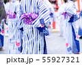 浴衣 盆踊り 祭り 55927321