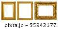Gold picture frame 55942177