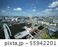 名古屋港ポートビルからの眺め + 名古屋駅前都心風景 55942201