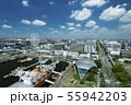 名古屋港ポートビルからの眺め + 名古屋駅前都心風景 55942203