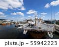 青空と南極観測船ふじ 55942223