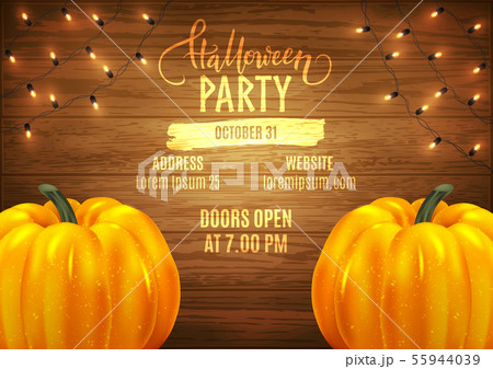 Halloween patry poster design advertisement, 55944039