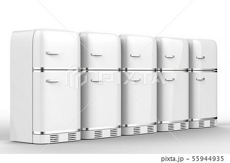 fridges in a row 55944935