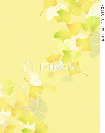 背景-和-和風-和柄-和紙-銀杏-秋 55951107
