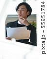 ビジネス 男性 55951784