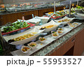 Concept of food All-inclusive buffet-style in Turkey 55953527