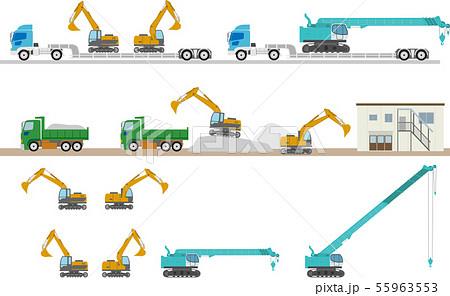 工事車両セット 55963553