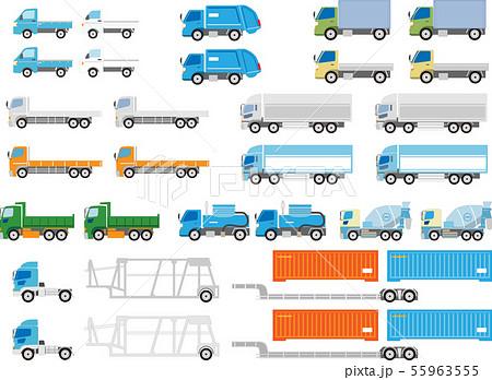 トラック数種まとめセット 55963555