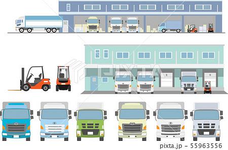 トラック配送センターまとめセット 55963556