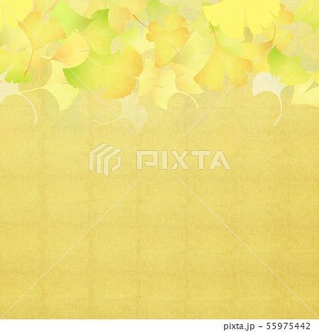 背景-和-和風-和柄-和紙-銀杏-金箔-秋 55975442