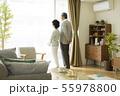 シニア 夫婦 老人の写真 55978800