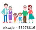 家族 三世代 55978816