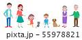 家族の集合 55978821