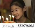女の子 子供 誕生日の写真 55979868