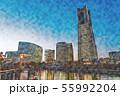 【神奈川県】みなとみらい 55992204