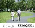 シニア 夫婦 散歩 55992551