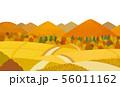 田舎道 秋 56011162