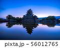 松本城 朝 【長野県】 56012765