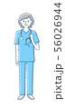 スクラブ 医療従事者 女性 56026944