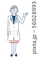 白衣 医療従事者 女性 56028993