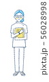 白衣 医療従事者 女性 56028998