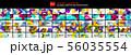 Mega set of glossy arrow shape design backgrounds. Techno futuristic templates in one large 56035554
