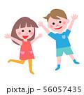 男の子と女の子 56057435