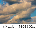 Dramatic clouds floating across sky before rain 56086021