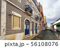 Lisbon Portugal, city skyline of local street 56108076