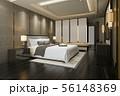 modern bedroom suite tv with wardrobe 56148369