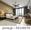 tropical bedroom suite in resort hotel and resort 56148376