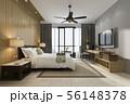 tropical bedroom suite in resort hotel and resort 56148378