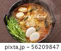 すき鍋 鍋料理 鍋イメージ 56209847