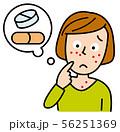 薬の副作用 56251369