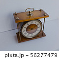 Old soviet table clock with mechanical winding 56277479