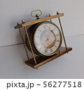 Old soviet table clock with mechanical winding 56277518