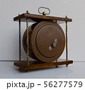 Old soviet table clock with mechanical winding 56277579
