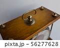 Old soviet table clock with mechanical winding 56277628