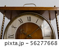 Old soviet table clock with mechanical winding 56277668