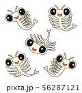 シーモンキー Artemia キャラクター セット 模様 イラスト 56287121