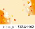 紅葉の背景素材 56384402